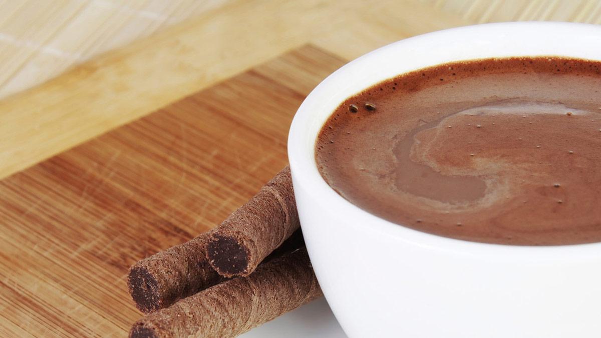 Chai-spiced hot cocoa