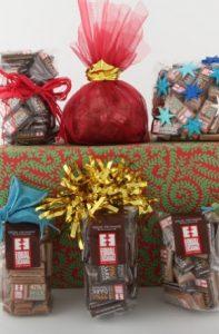 gift bags of dark chocolate minis