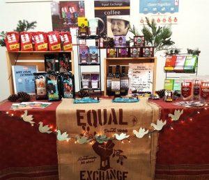 fair trade holiday sale table