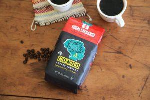 congo coffee project coffee bag